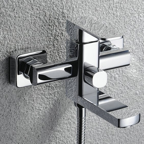 Chrome Finish Solid Brass Tub Tap without Hand Shower T0516W