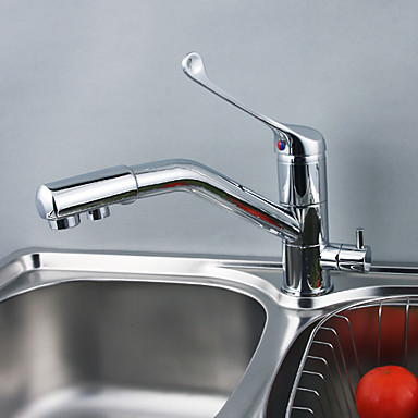 Solid Brass Kitchen Tap with Drinking Water Function T0791