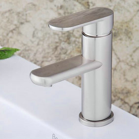 Contemporary Single Handle Bathroom Sink Tap T1785S