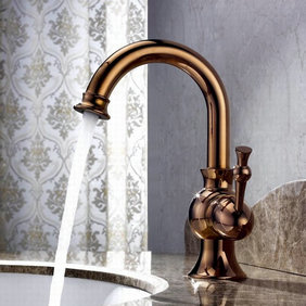 Centerset Antique Rose Gold Finish Kitchen Tap (New Style) T1811RG