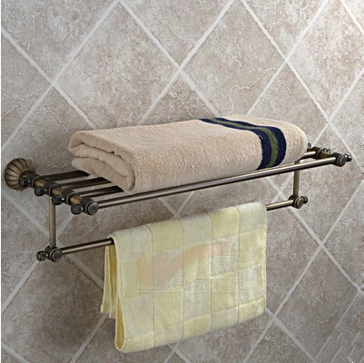 Antique Brass Towel Rack Hot Sale New Bathroom Towel Bar TA322B