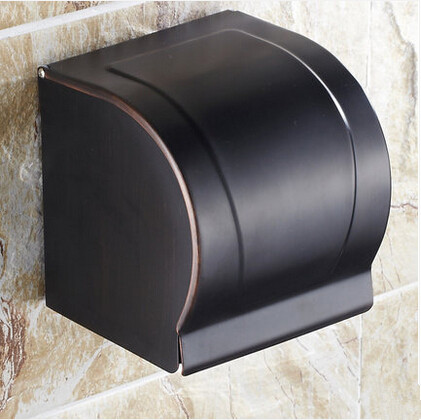 Brass Black Bronze Antique Bathroom Accessory Toilet Paper Box Paper Holder TAB10P