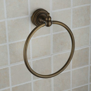 Antique Brass Wall-mounted Towel Ring TAB2007