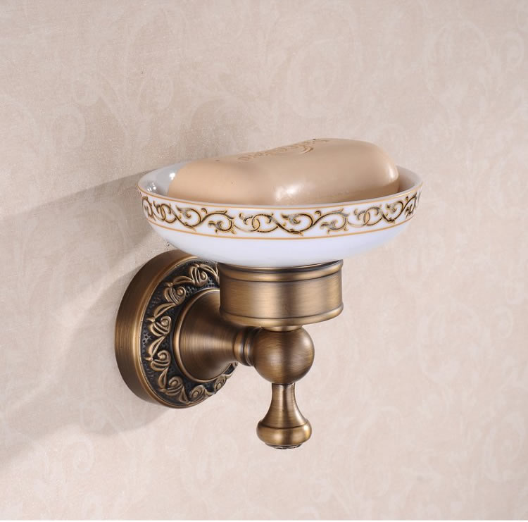 Wall Mount Antique Brass Soap Dish Holder TAB6109