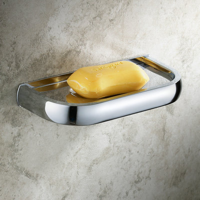 Chrome Finished Bathroom Brass soap Dish TCB7409