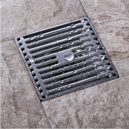 Well Designed Stainless Steel Thick Odor Pest Control Anti-Clogging Floor Drain FD043