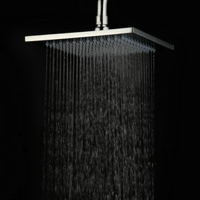 Contemporary 8 Inch Stainless Steel Rainfall Shower Head HB08