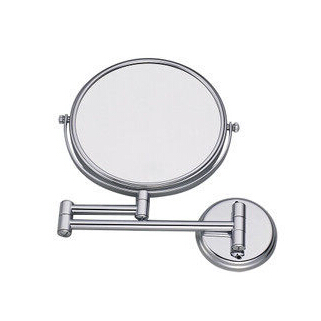 Brass Finish Wall Mounted Bathroom Two Sides Magnifying Glass Cosmetic Mirror MB001