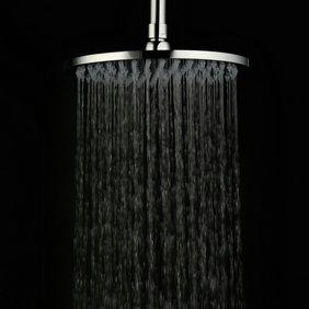 Contemporary 8 inch Stainless Steel Rainfall Shower Head RB08D