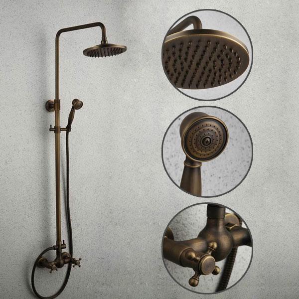 antique centerset bathroom sink tap rose gold finish t1810rg t1810rg. Black Bedroom Furniture Sets. Home Design Ideas