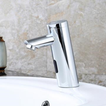 Contemporary Sensor Tap Automatic Touchless Bathroom Sink Tap - T0106