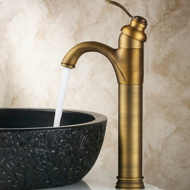 Classic Solid Brass Bathroom Sink Tap T0426A