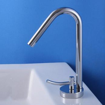 Creative Personality Brass Single Hole Bathroom Mixer Sink Tap T218N