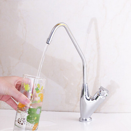 Brass Drinking Water Tap Kitchen Sink Tap Clean Water Tap T415HA