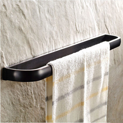 Antique Brass Black Bronze Bathroom Accessory Towel Single Bar TAB1288
