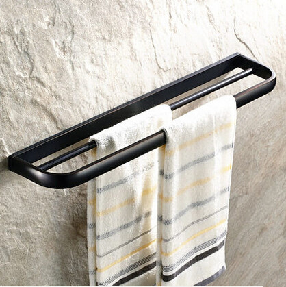 Antique Brass Black Bronze Bathroom Accessory Towel Double Bar TAB1566