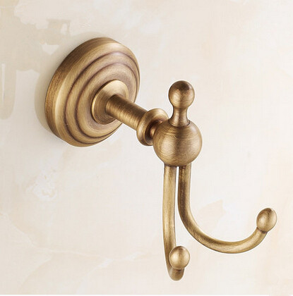 Brass Finish Antique Wall Mounted Robe Hook TAB6400