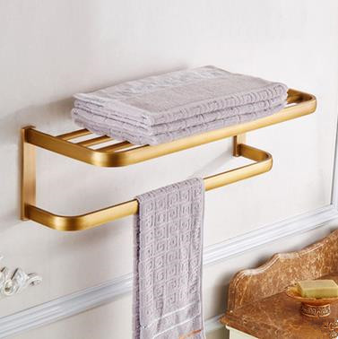 Antique Brass Bathroom Towel Rack Bathroom Towel Bar TAC0126