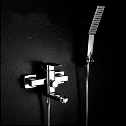 High Quality Brass Mixer Water Bathtub Tap With Hand Shower TB077U