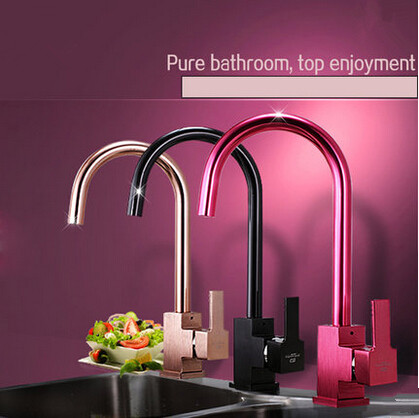 New Designed Brushed Upscale Third Gear Switch Kitchen Mixer Taps with Filtered Bubble TC032F