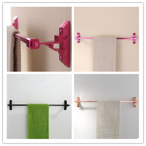 3 Colors To Choose Brushed Space Aluminum Bathroom Accessory Towel Bar TC0898
