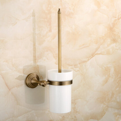 2015 New Antique Brass Bathroom Accessory Toilet Brush Holder TCB0800