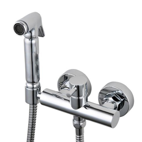 Contemporary Solid Brass Bidet Tap Chrome Finish DB002