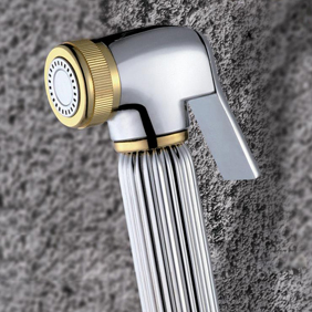 Contemporary Solid Brass Bidet Tap Chrome Finish DB005