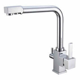 Hot And Cold Water And RO filter Brass Kitchen Sink Tap T3303
