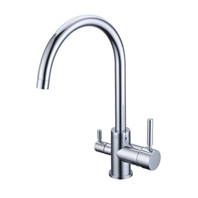 Three Way Kitchen Mixer Tap Pure Water Filter T3306